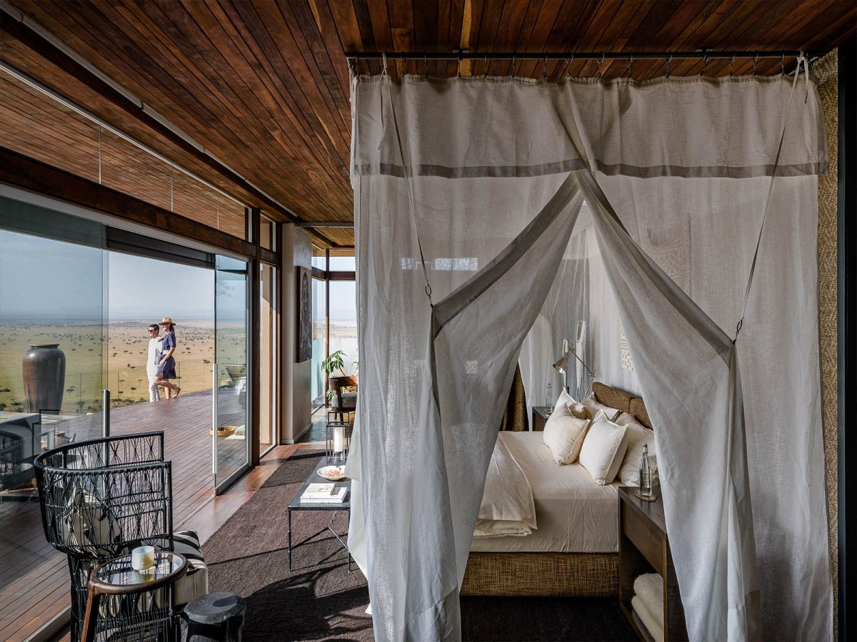 Hillside Suite Sasakwa Lodge Singita