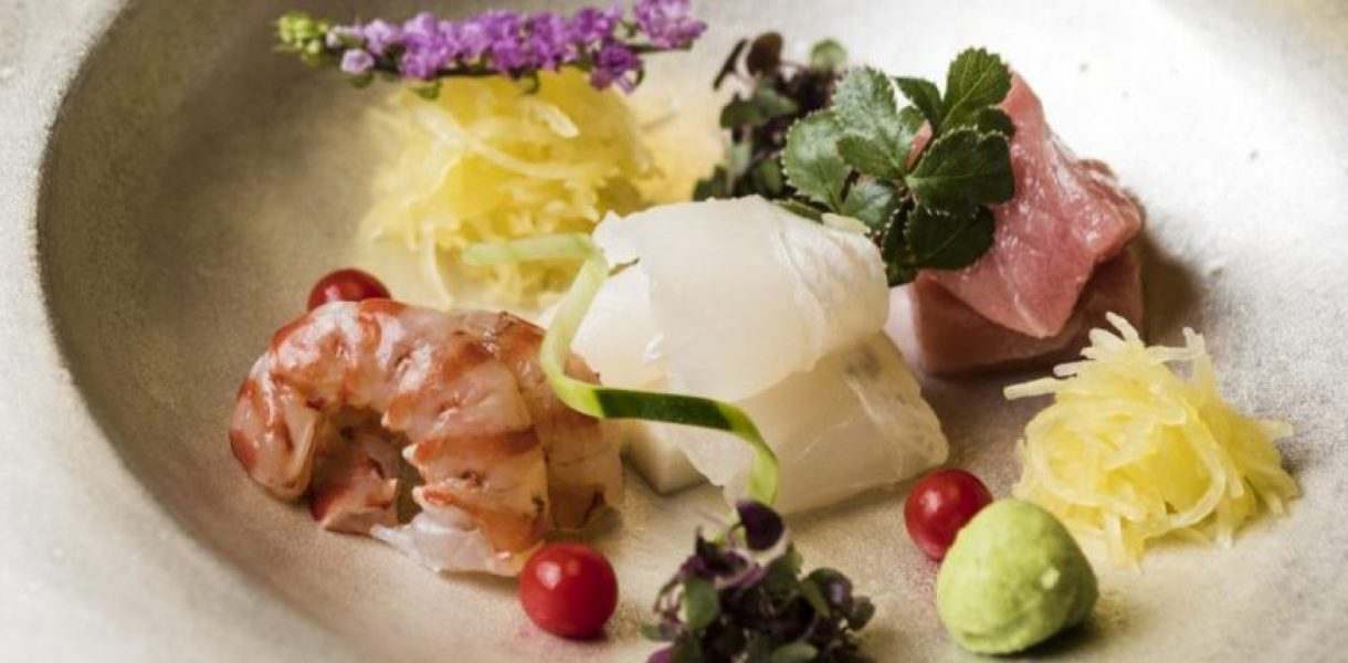 Tempelhoff collaborates with Zeniya's two Michelin star chef Shin Takagi