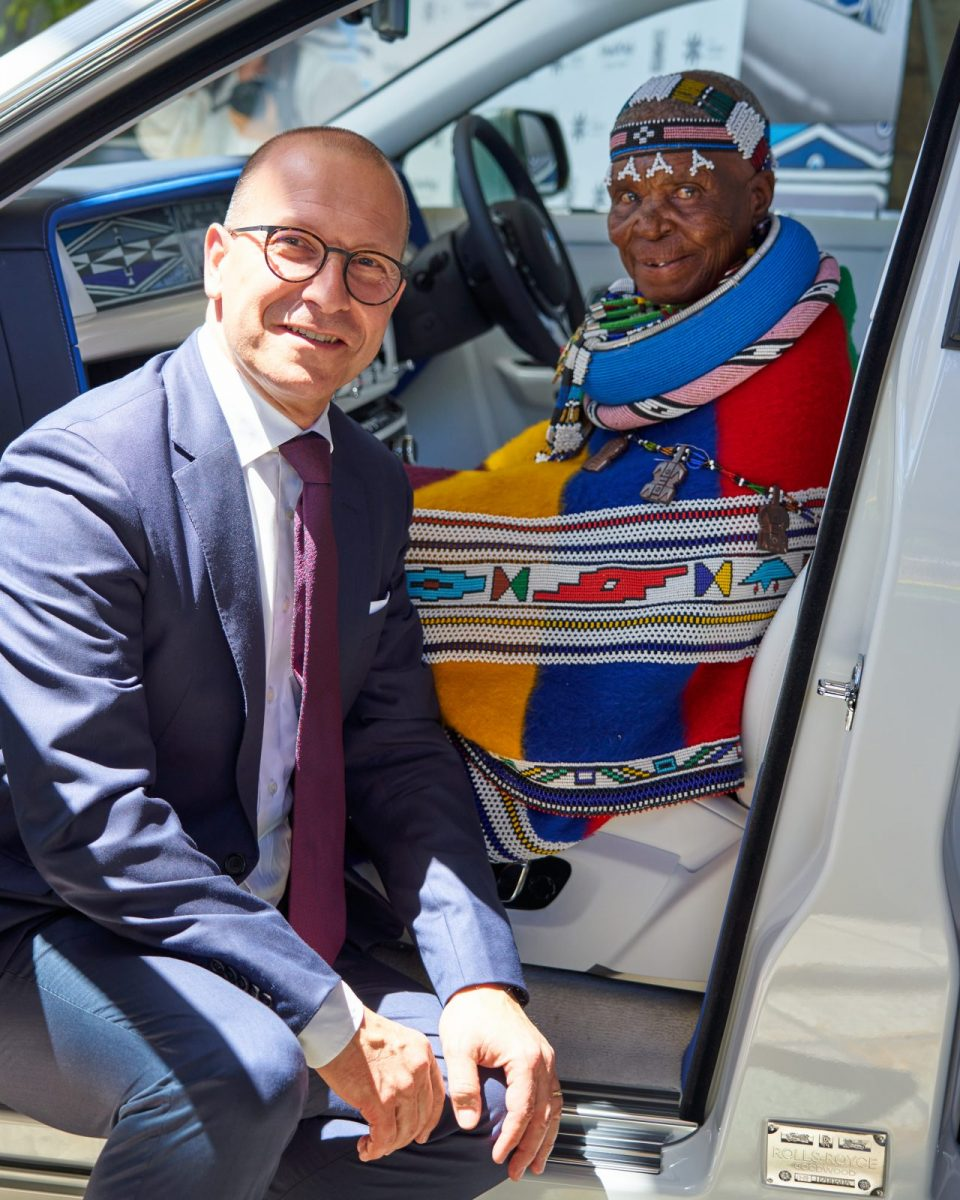 Esther Mahlangu Rolls-Royce Melrose Gallery
