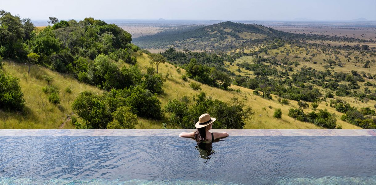 Your own private oasis in the Serengeti