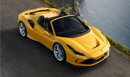 The new Ferrari F8 Spider is now available in SA