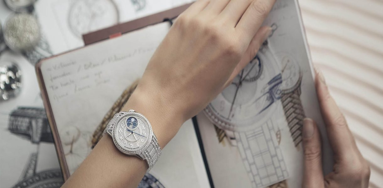 How about 1344 diamonds on your wrist?