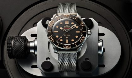Just launched: James Bond's new timepiece of choice