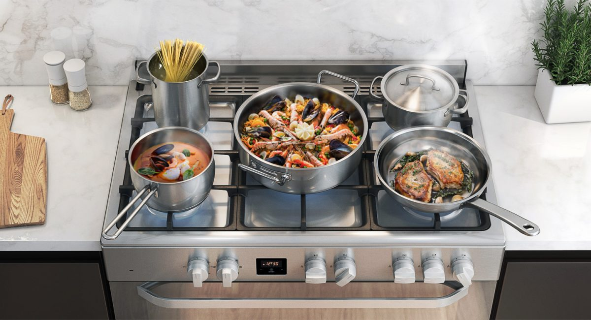 The new Samsung gas cooker will satisfy your inner chef 1