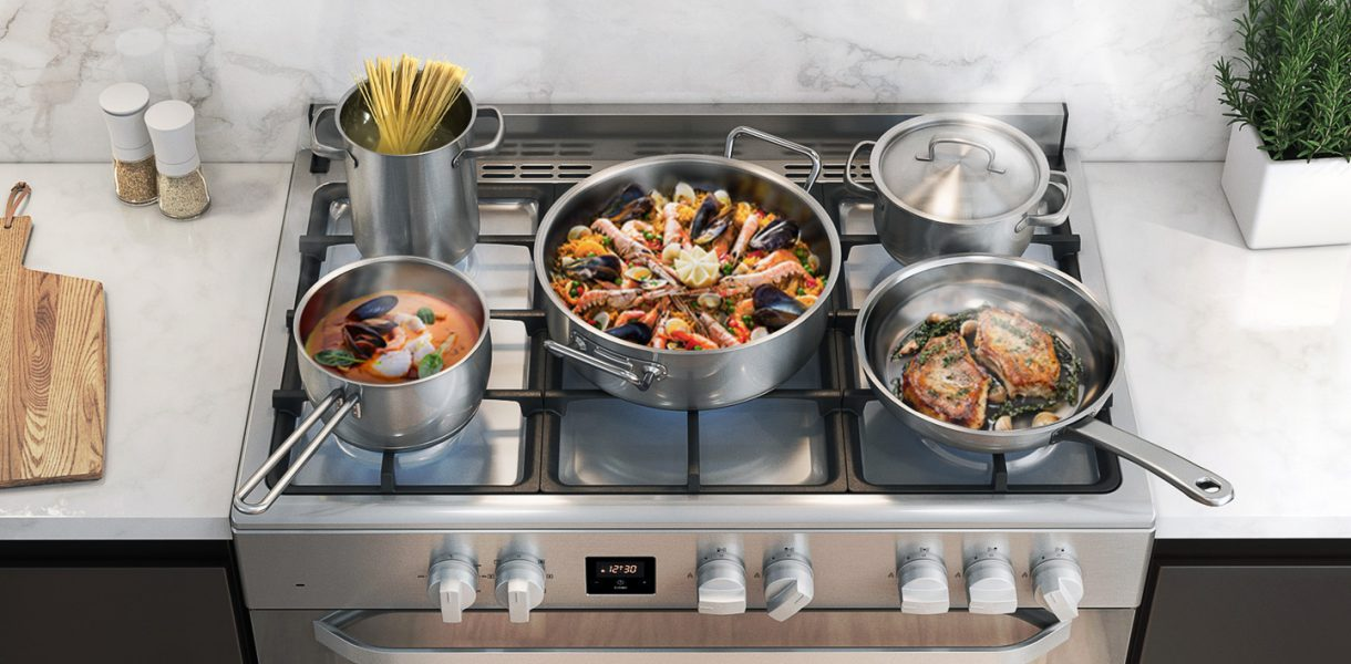 The new Samsung gas cooker will satisfy your inner chef